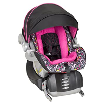Baby Trend Flex Loc Infant Car Seat Hello Kitty Pinwheel