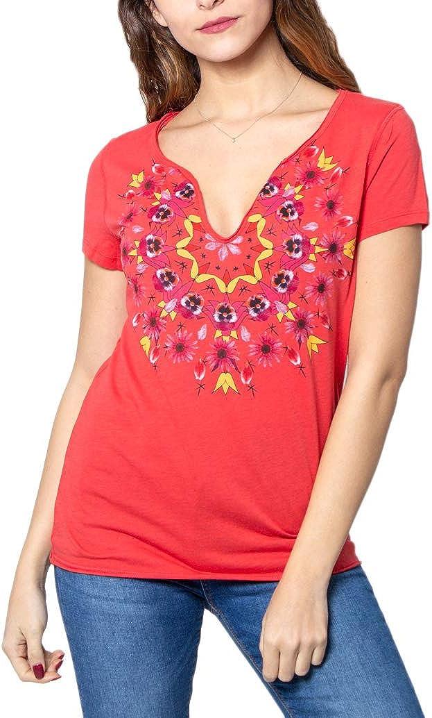 Desigual CROACIA T-Shirt et Polo pour Femme Orange