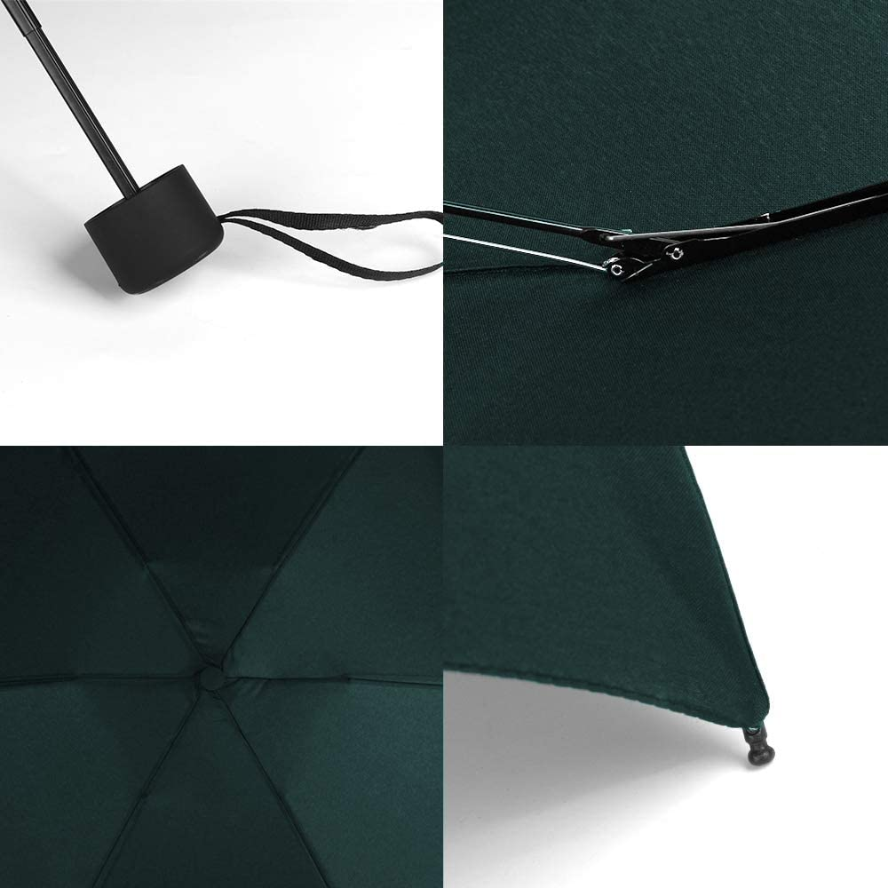 YUI Galleria Compact Travel Umbrella Sun/&Rain Lightweight Small and Compact Suit for Pocket