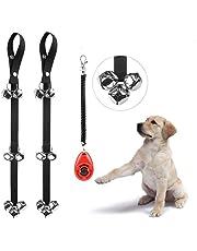 EYLEER Length Adjustable Dog Doorbells for Dog Puppy Potty Toilet House Training Dog Door Bells,Pack of 2,Assorted Color