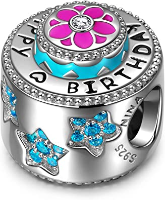 pandora charm originali compleanno