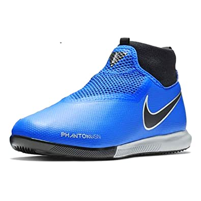 new product 6962f 3787b Nike Jr Phantom Vsn Academy DF IC, Chaussures Multisport Indoor Mixte  Enfant, Bleu Racer