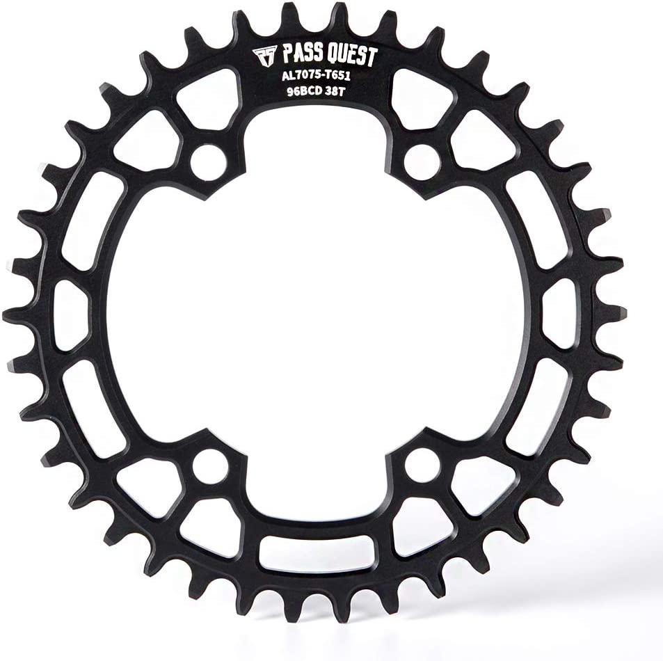 PASS QUEST Narrow Wide Chainring BCD 96mm for M7000 M8000