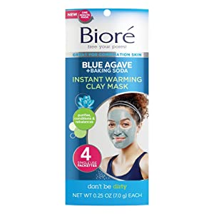 Biore Deep Cleaning Cream Facial Treatments - 4ea, 4 Count