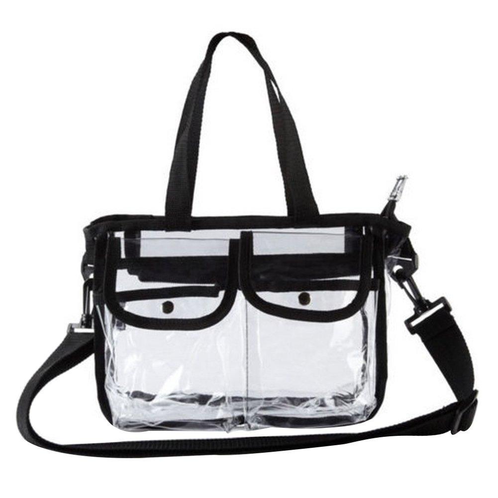 Enjoyall Kulturbeutel Transparente Eva-Reißverschluss-Wasserdichte Kosmetiktasche Make-up Toiletry Clutch Bag Organizer