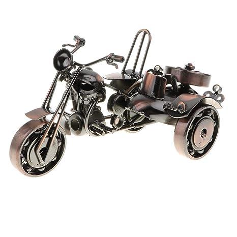 NON Sharplace Juguete de Vehículos de Simulación Modelo de Motocicleta/ Tractor de Hierro Artesanal Decoración