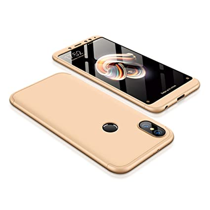 designer fashion 64850 14cd9 Amazon.com: XiaoMi RedMi Note 5 Pro Case, 3 in 1 Detachable Anti ...