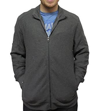 af1567d5b69e Calvin Klein Men s Lifestyle Full Zip Sportswear Sweater at Amazon Men s  Clothing store