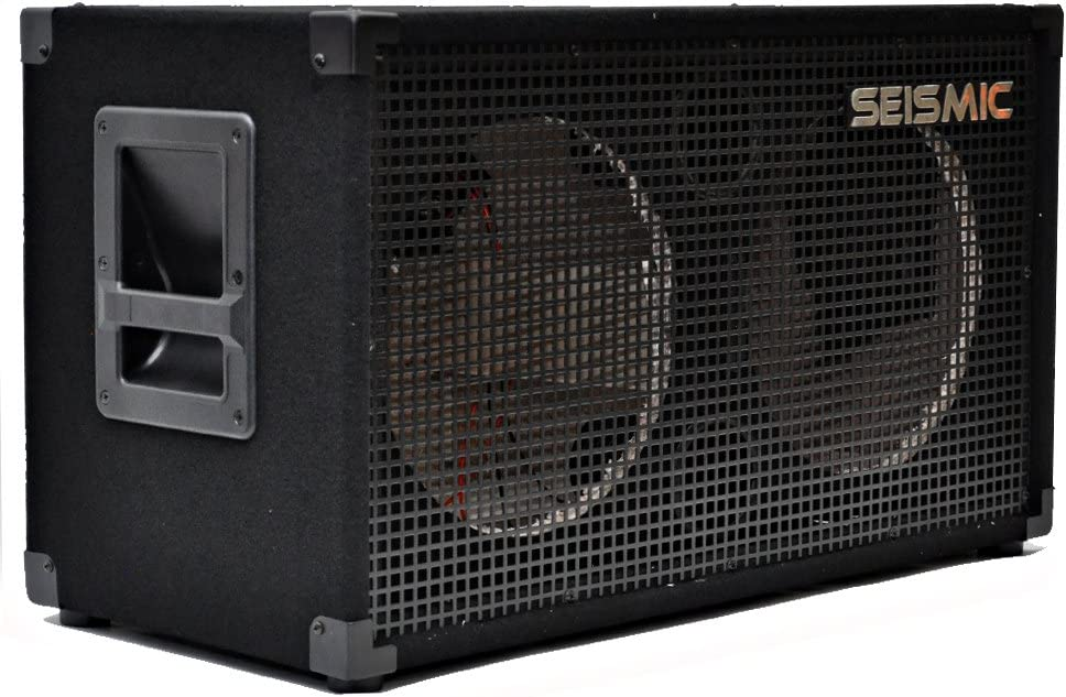 Seismic Audio - Empty 212 GUITAR SPEAKER CABINET - 2x12 PA/DJ PRO AUDIO