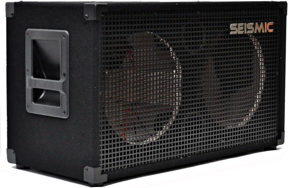 Seismic Audio - Empty 212 GUITAR SPEAKER CABINET - 2x12 PA/DJ PRO AUDIO