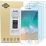 Screen Protector iPhone 8 7 6S 6, Anti Blue Light Screen Protector [ Eye Protect ] [ Touch Screen Accuracy ] [Bubble…