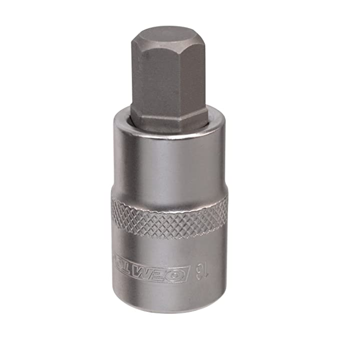 OEMTOOLS 22841 13mm Metric Drive Hex Bit Socket