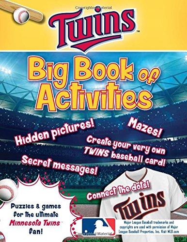 Peg Puzzle Book (Minnesota Twins: The Big Book of Activities (Hawk's Nest Activity Books))