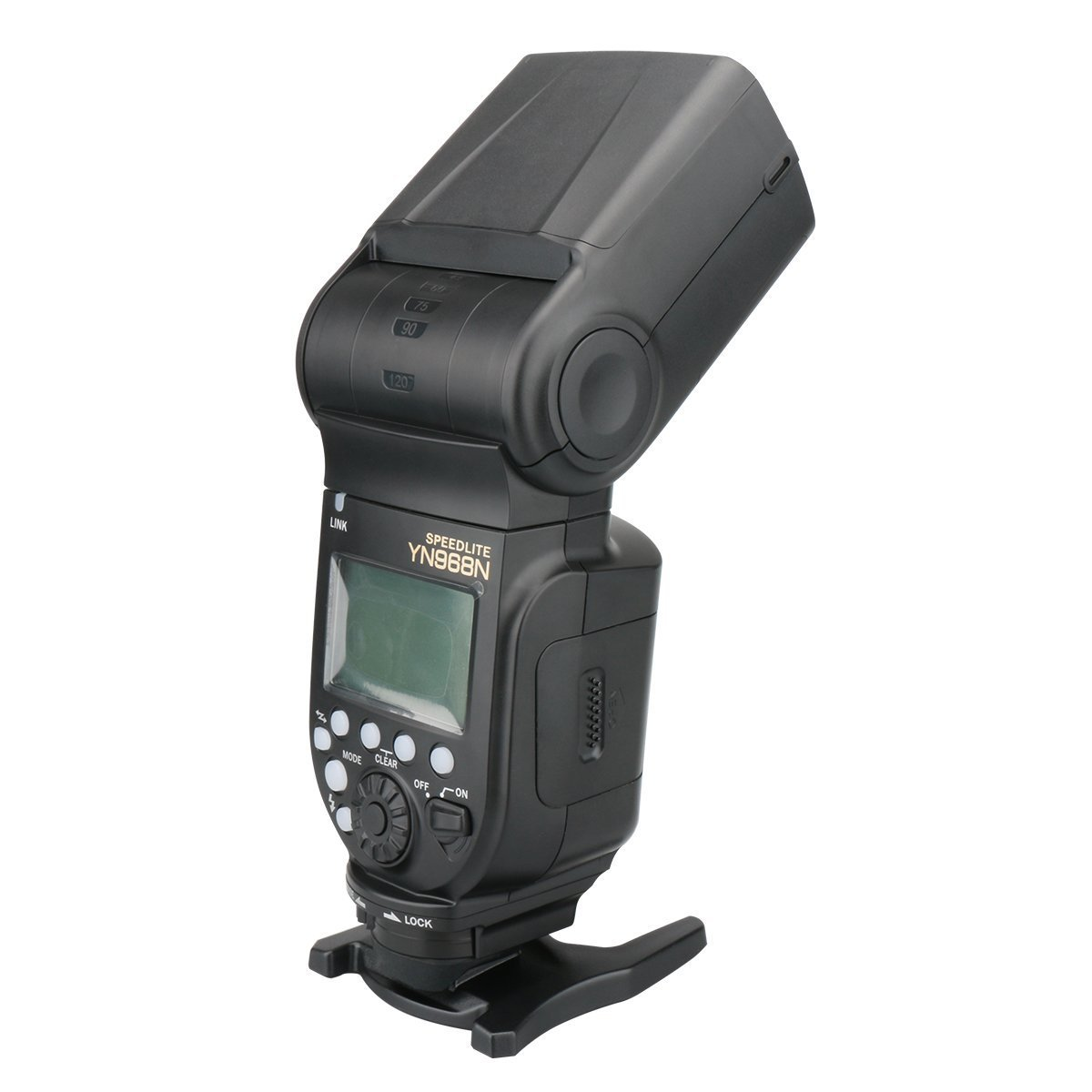 YONGNUO YN968N Wireless Flash Speedlite High-speed Sync TTL 1/8000 for Nikon with WINGONEER Diffuser