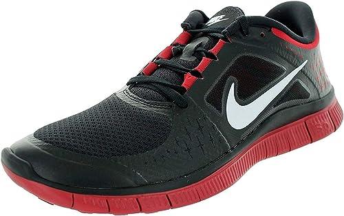 Calumnia Diplomático Cambio  Nike Men's Free Run 3 NSW Black/White/Gym Red Running Shoe 9.5 Men US,  Black/White/Gym Red, 8.5 D(M) UK/43 D(M) EU: Amazon.co.uk: Shoes & Bags