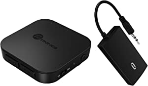 TaoTronics Bluetooth Audio Adapter Bundle with TaoTronics Portable Bluetooth Transmitter