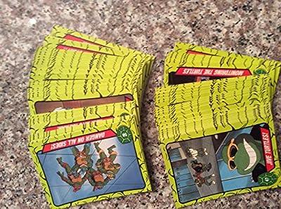 1990 Topps Tmnt Trading Card Set (66) Cards Teenage Mutant Ninja Turtles Animated Non-sport