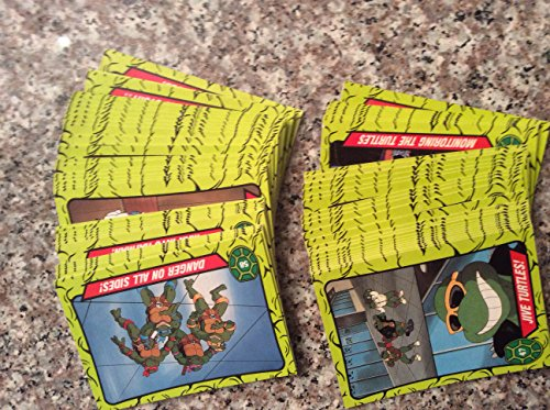 1990 Topps Tmnt Trading Card Set (66) Cards Teenage Mutant Ninja Turtles Animated Non-sport from Topps
