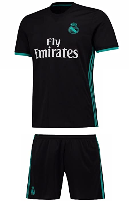 Marex Men s Real Madrid Away Football Jersey  Amazon.in  Sports ... b857d7e49