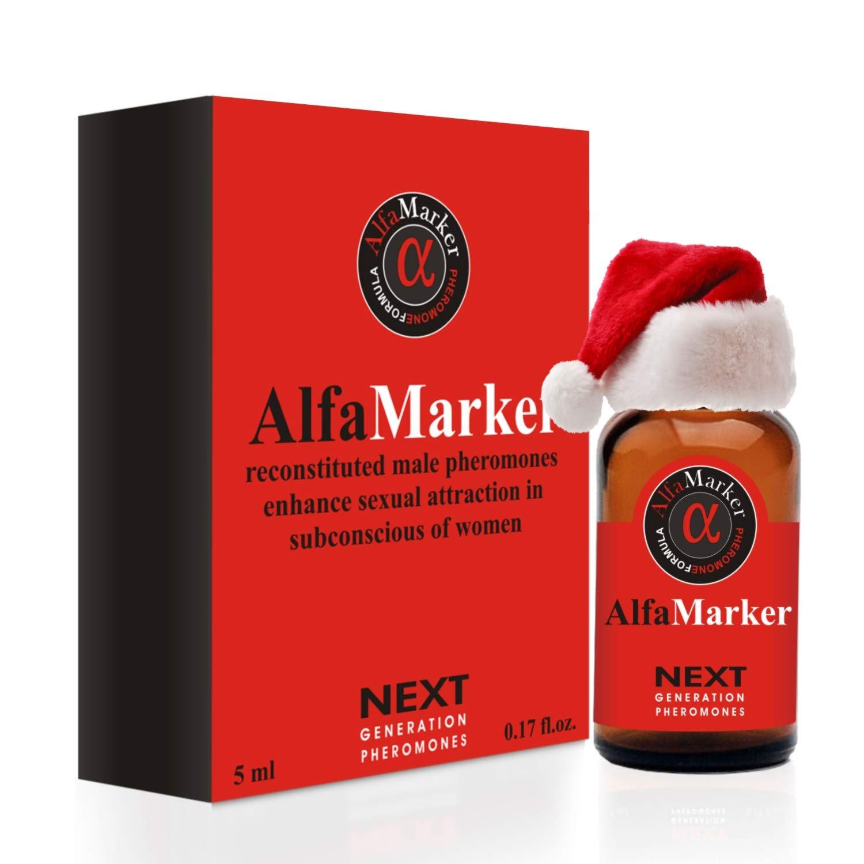 Pheromones to Attract Women Alfamarker Men`s Pheromone Highly Concentrated Human Pheromone Formula Fragrant Oil Perfume for Men 5 ml (AlfaMarker Sens)