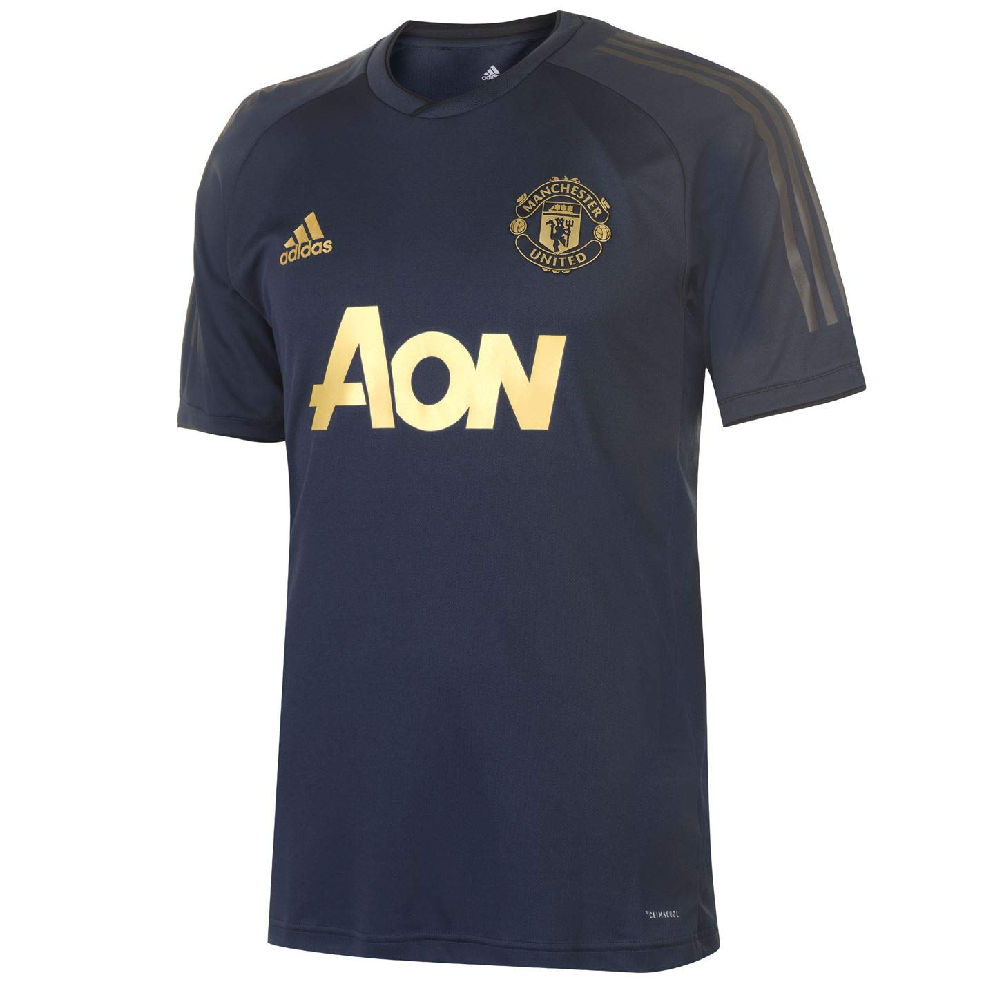 Adidas 2018-2019 Man Utd UCL Training Shirt (Navy)
