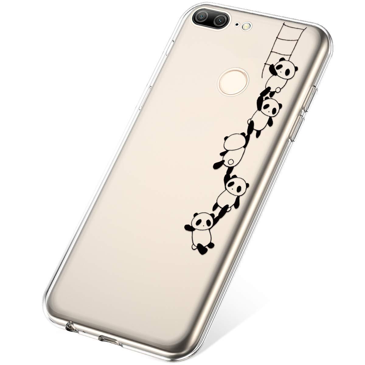 Felfy Kompatibel mit Huawei Honor 9 Lite Handyh/ülle Transparent Silikon D/ünn Weiche TPU Case Ultra D/ünn Anti-Scratch Sto/ßfest Kratzfest Durchsichtig H/üllen Schutzh/ülle,Mandala