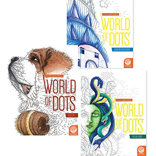 MindWare Extreme Dot to Dot World of Dots: (Set of -
