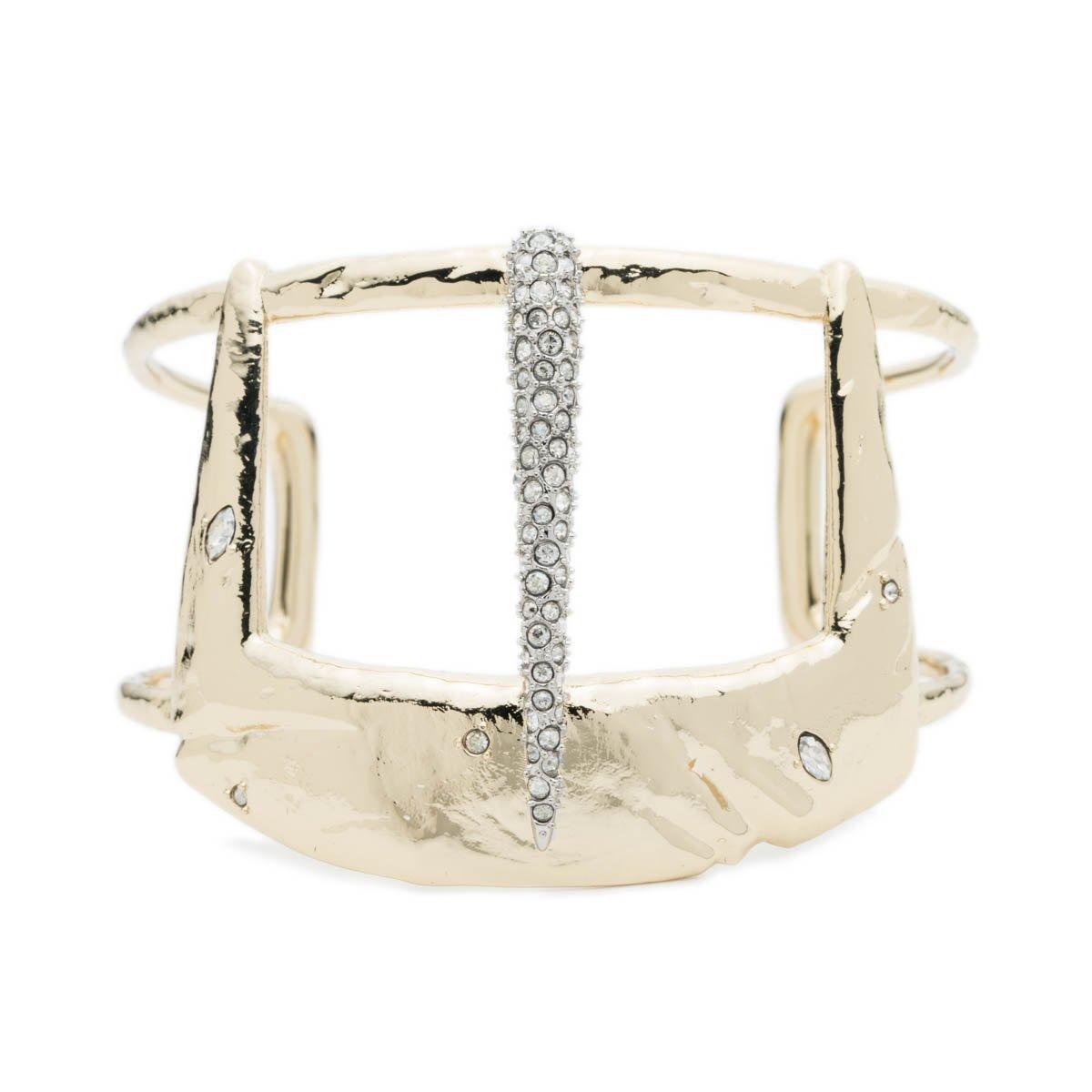 Alexis Bittar Fall 2017 Wide Buckle Cuff Bracelet