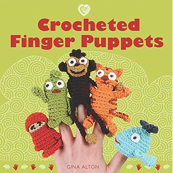 5 Little Monsters: Farm Animal Finger Puppet Playset | 600x600