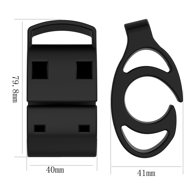 LICHIFIT silicone universale kit di supporto per manubrio bicicletta per Garmin Forerunner orologio GPS TomTom Polar Suunto GPS sport orologi