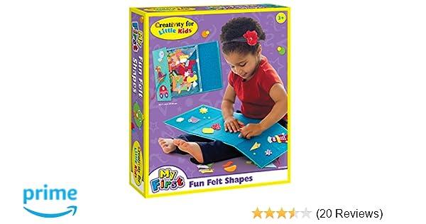 Amazon Creativity For Kids My First Fun Felt Shapes