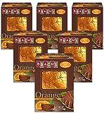 Brach's Fruit Burst Milk Chocolate Orange, 5.5 Ounce, Pack of 6
