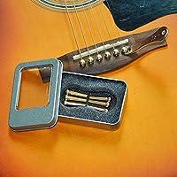 Imelod - Pinzas para guitarra (6 unidades, latón, cobre, para ...