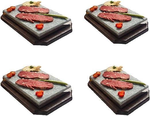 Piedra para Carne de 20x30x3 Especial Restaurante Promoción Cuatro ...