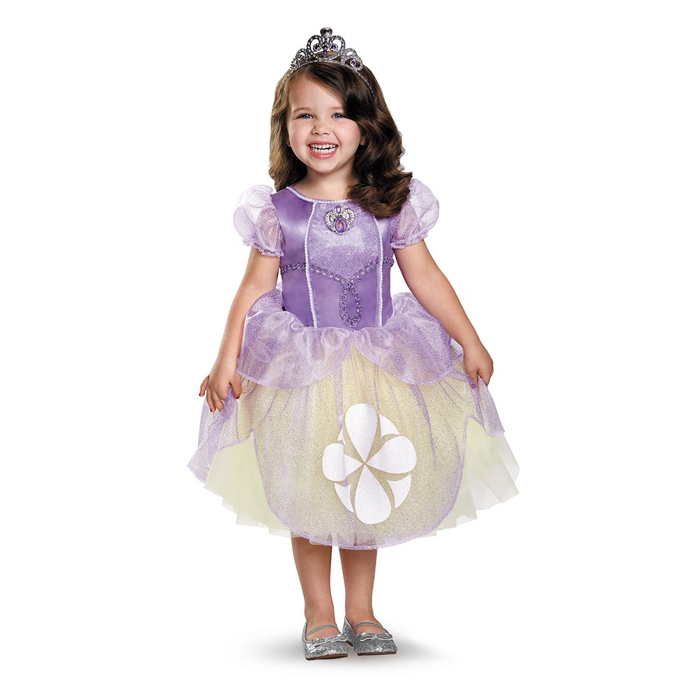 Disguise Sofia The First Tutu Deluxe Toddler//Child Costume