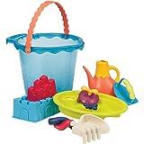 B.Toys 比乐 大桶沙滩玩具套装-大海蓝 婴幼儿童玩具礼物 18个月-8岁 BX1444Z