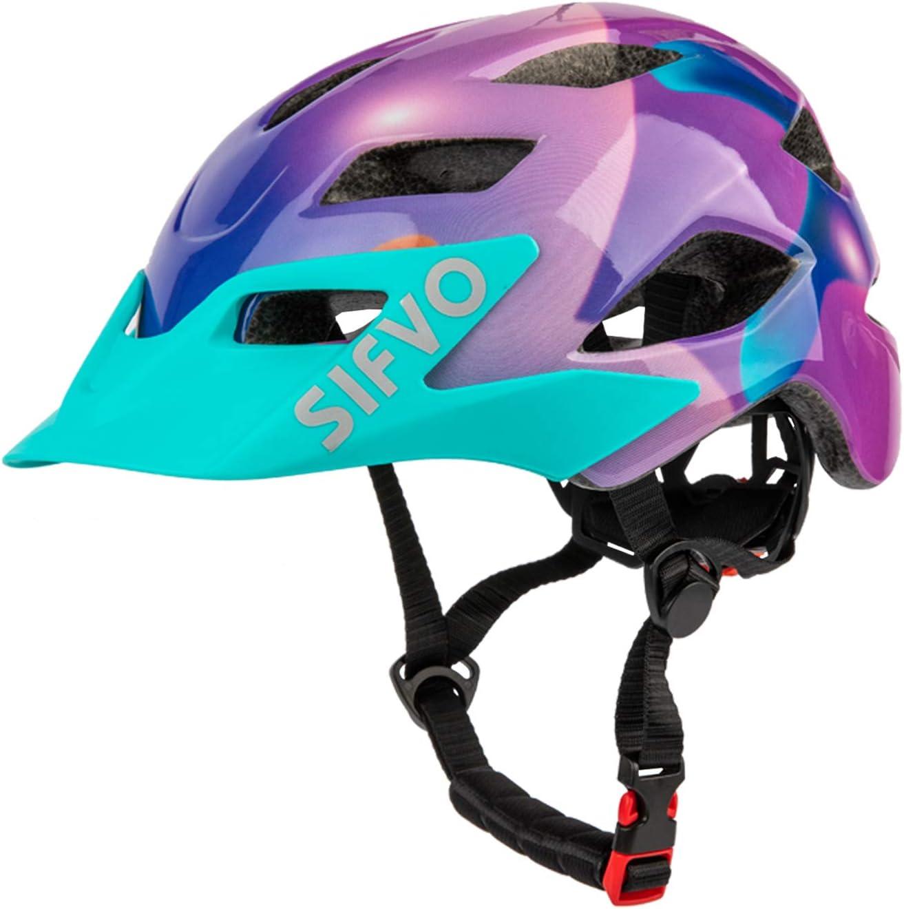 SIFVO Kids Bike Helmet, Youth Roller Skate Helmet,Bicycle Helmets Sports Helmets for Boys and Girls Aged 5-13 50-57cm