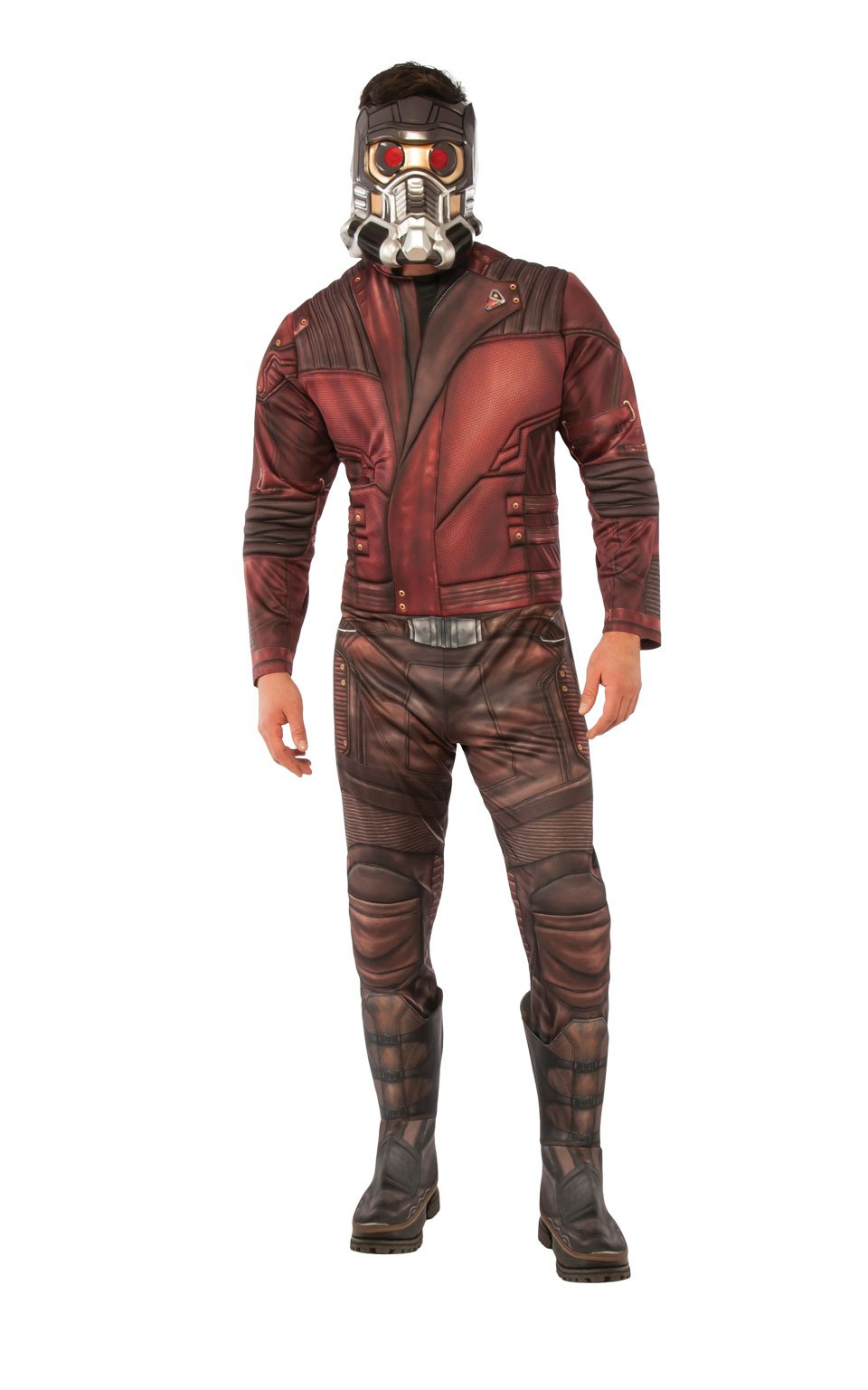 Rubie's Costume Co Guardians of The Galaxy Vol. 2 Star-Lord Costume Top and Mask, Deluxe, Standard