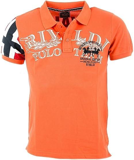 Polo Rivaldi niño UK salmón naranja 8 Años: Amazon.es: Ropa y ...