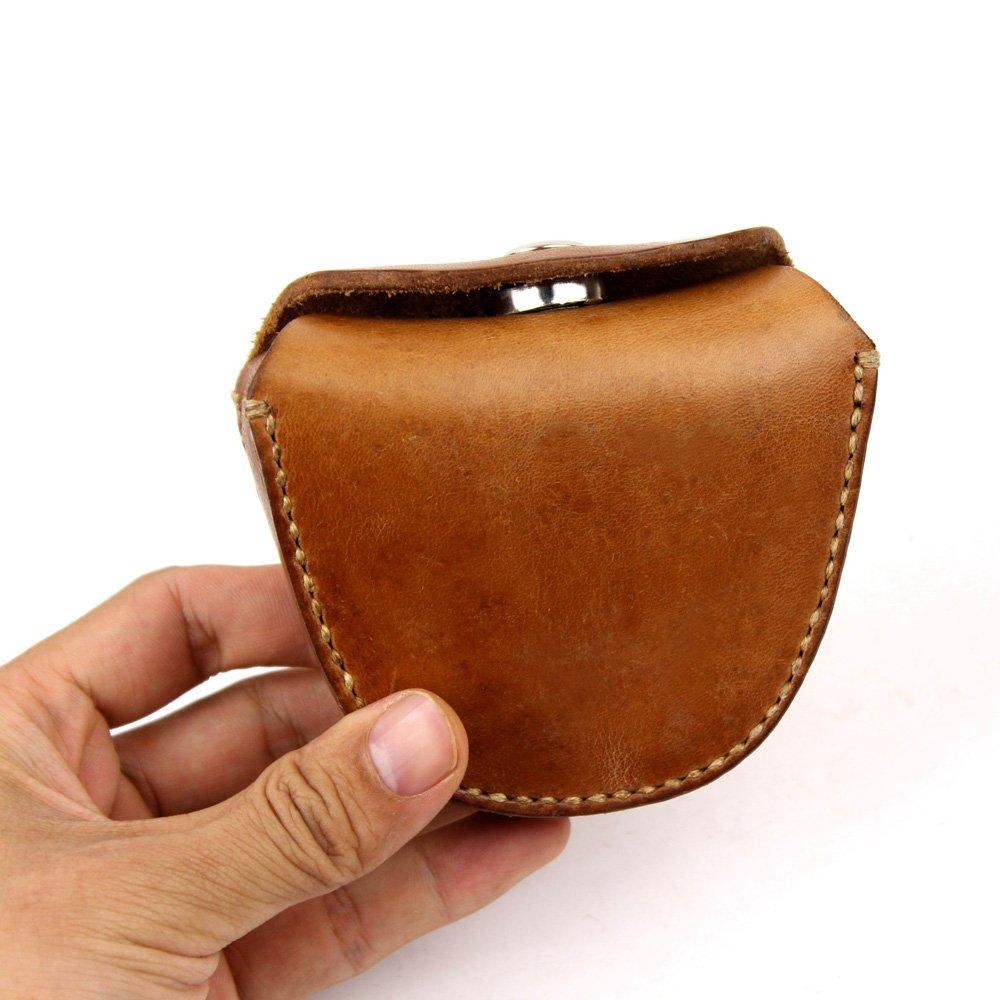 Handmade Genuine Leather Ammo Pouch Storage Bag for Slingshot Balls
