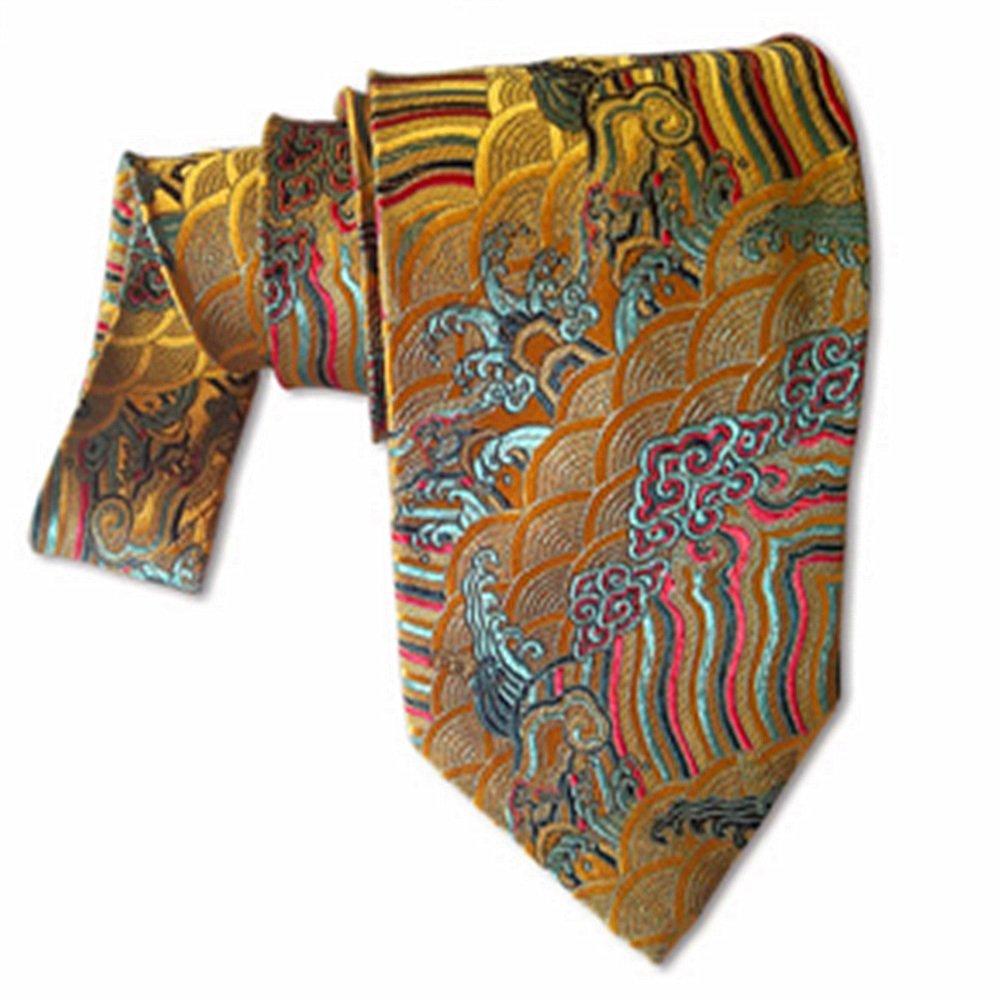 YYB-Tie Corbata Moda Corbata de Seda de los Hombres del Estilo de ...