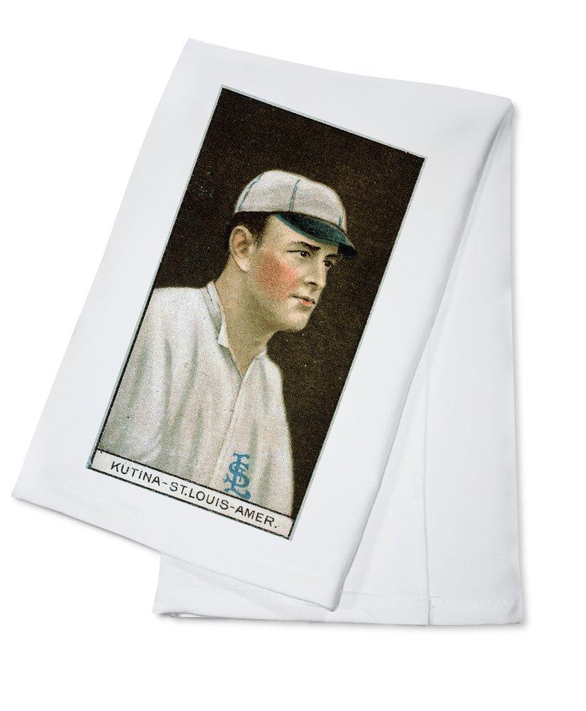 セントルイスBrowns – Josephクティナ – 野球カード Cotton Towel LANT-23108-TL B0184BAIEO  Cotton Towel