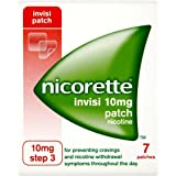 Nicorette Invisi Patch  10mg - 7 patches - Step 3