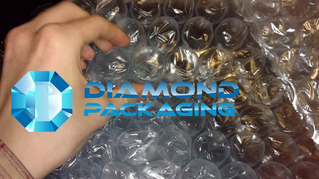 Diamond Packaging abbastanza forte 750 mm di larghezza x 25 m di lunghezza Rotolo di pluriball grande ideale per traslochi in casa