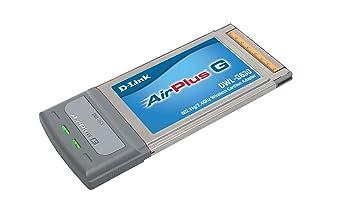 D-Link DWL-G630 Adapter Cardbus 54MBPS - DWL-G630 Tarjeta PCMCIA inalámbrico