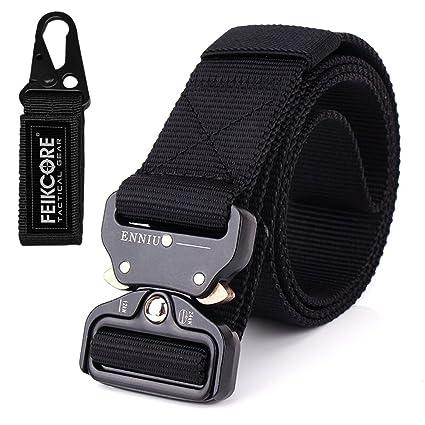 FEIKCOR Cinturón Táctico Cinturón Resistente para Hombres Cinturón Militar DE 1,5 Cinturones