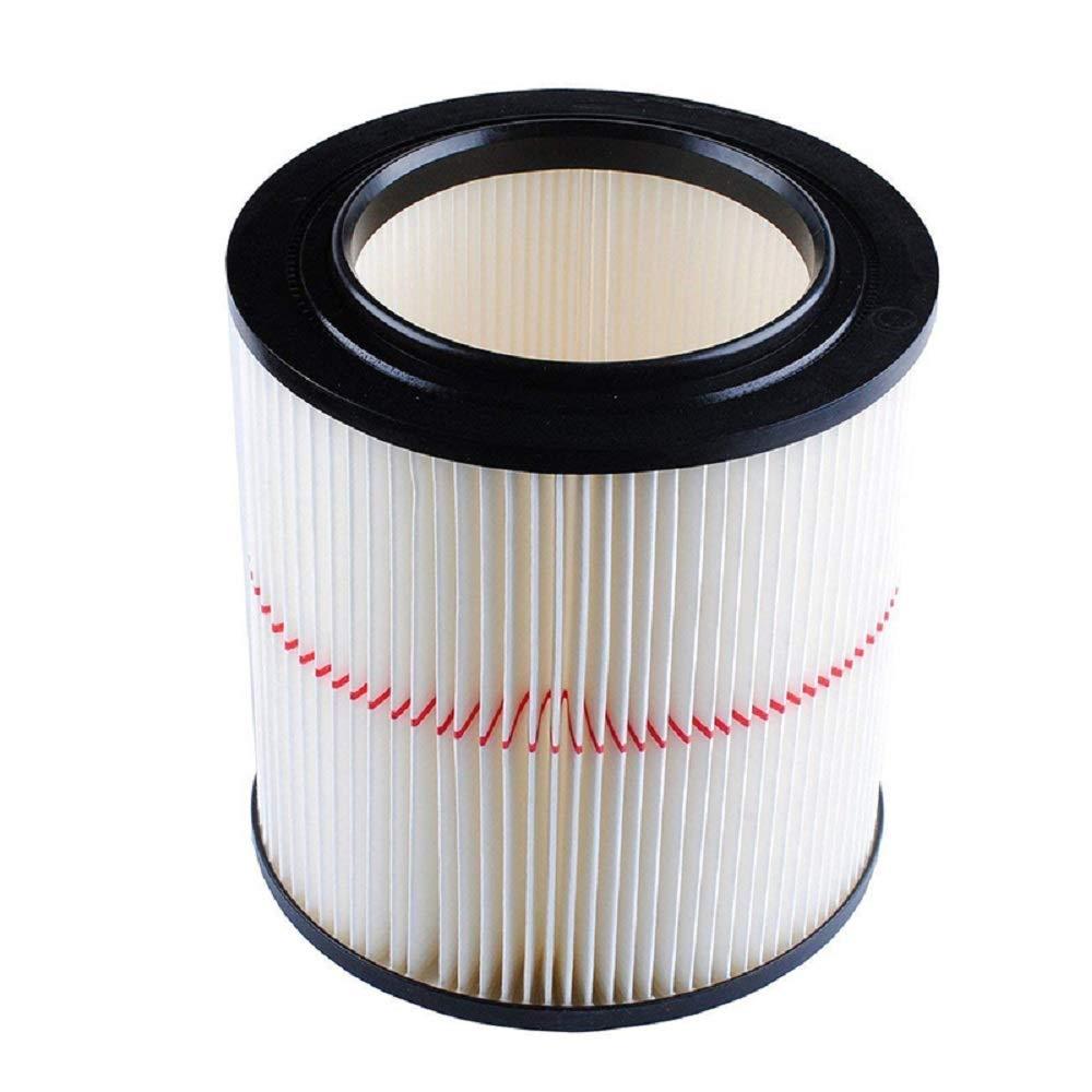Bysameyee General Purpose Replacement Cartridge Vacuum Filter for Shop Vac Craftsman 17816 9-17816 (Red Stripe)
