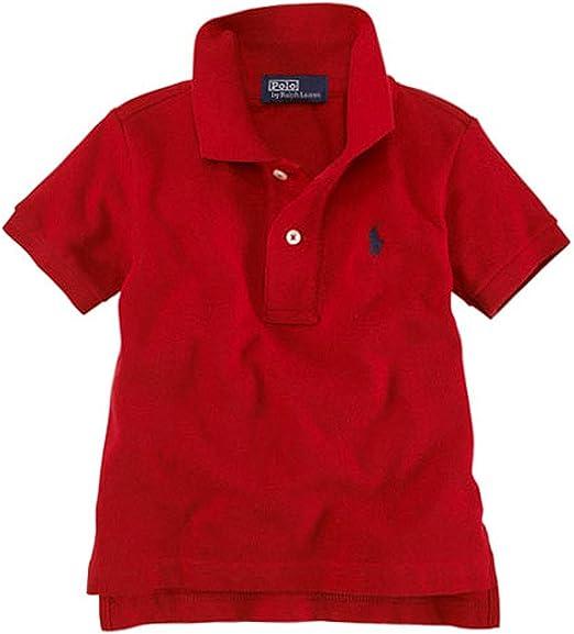 Ralph Lauren bebé bebé niños Classic malla Pony Logo polo camisa ...