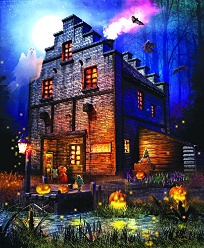 Firefly Inn 1000 pc Halloween Jigsaw Puzzle by SunsOut