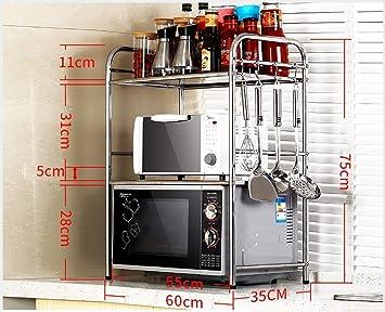 Shelf Rack de Unidades de Cocina multifunción, Rack de Horno ...